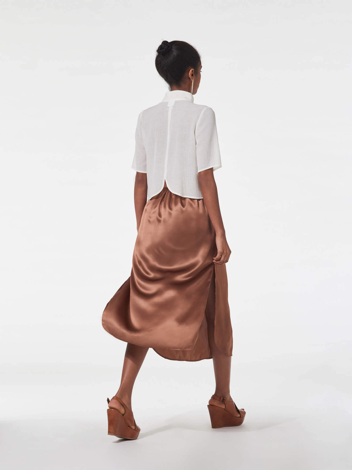 Laurie skirt, chai