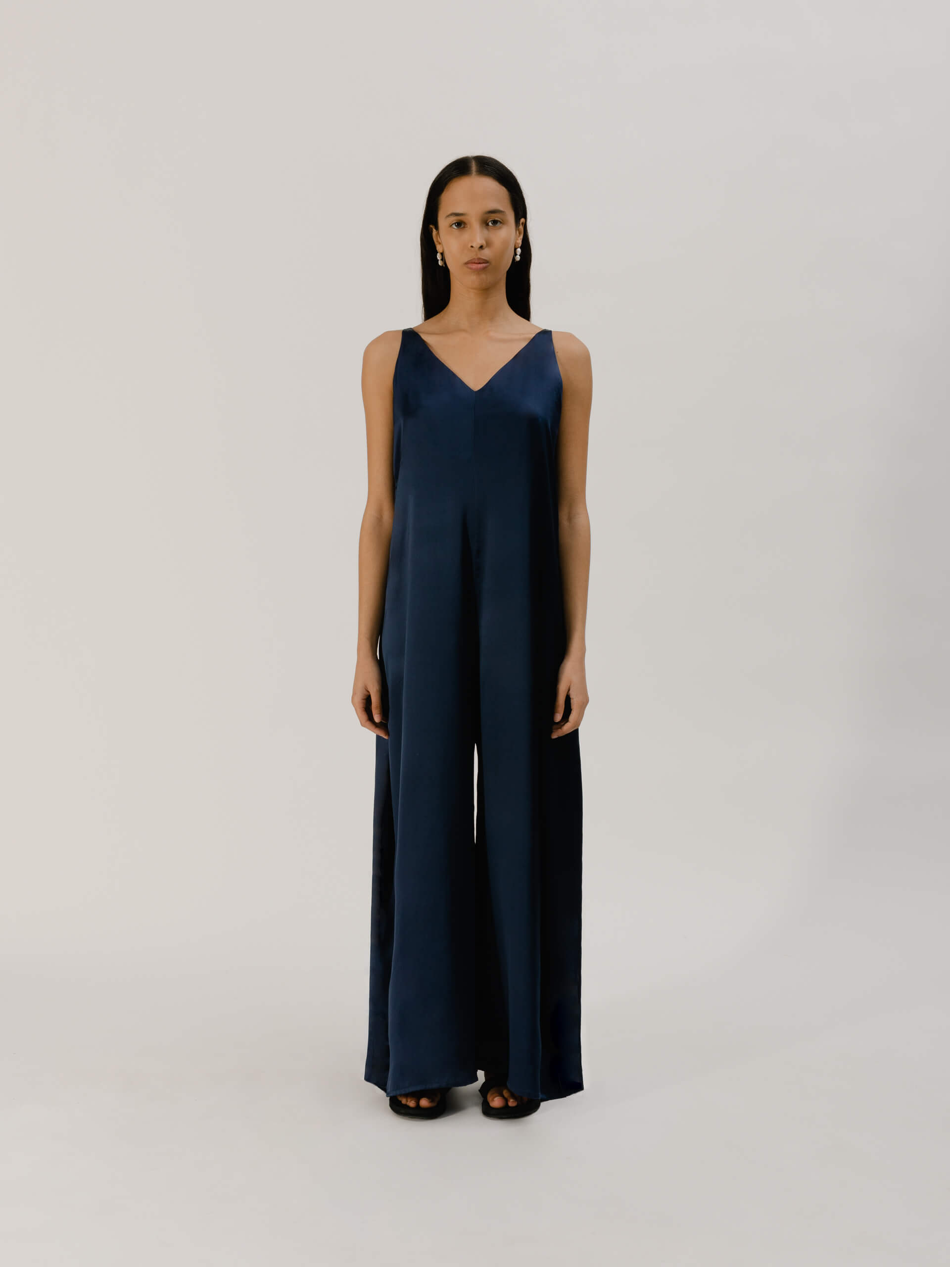 Kong jumpsuit, blue