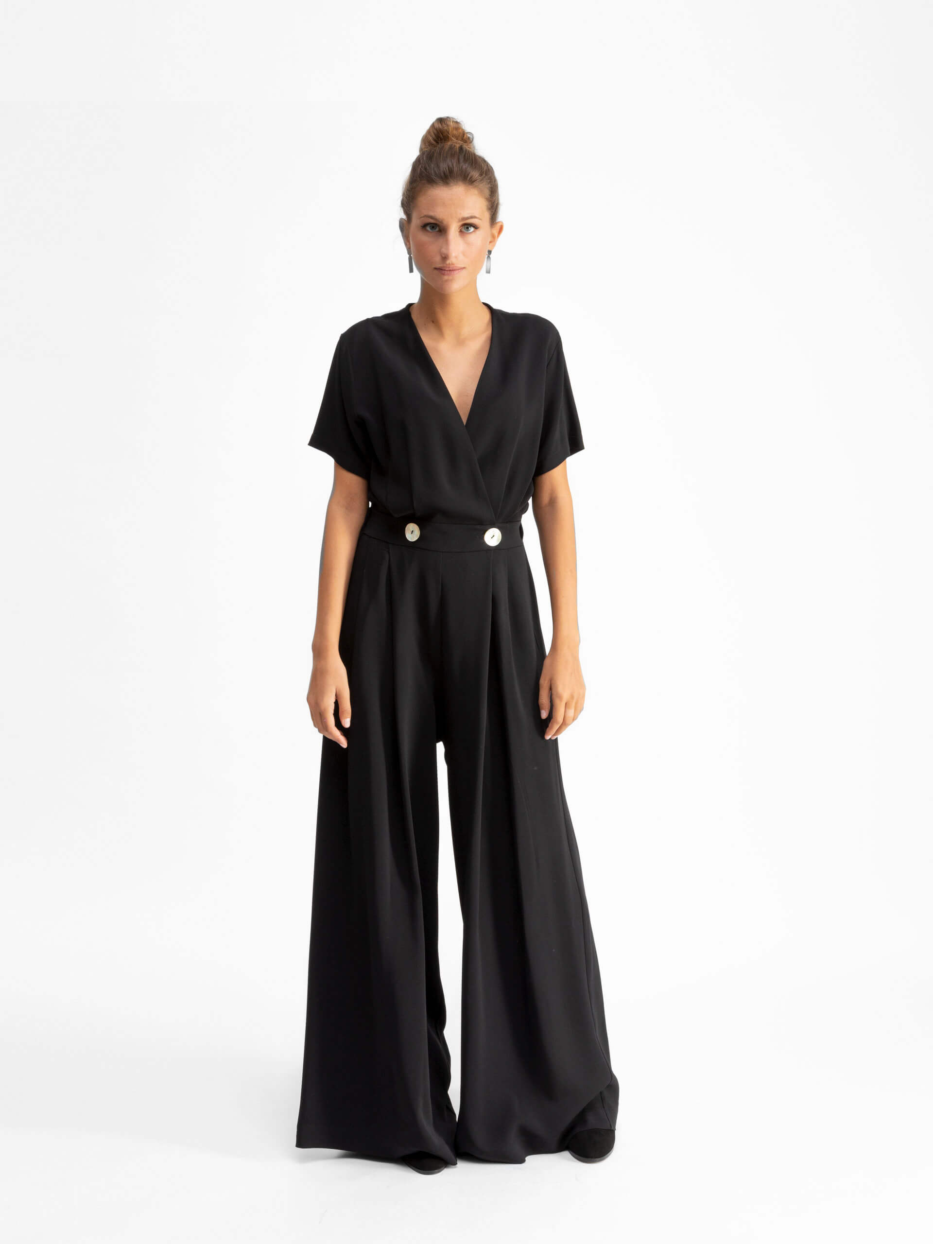 Maria jumpsuit, black
