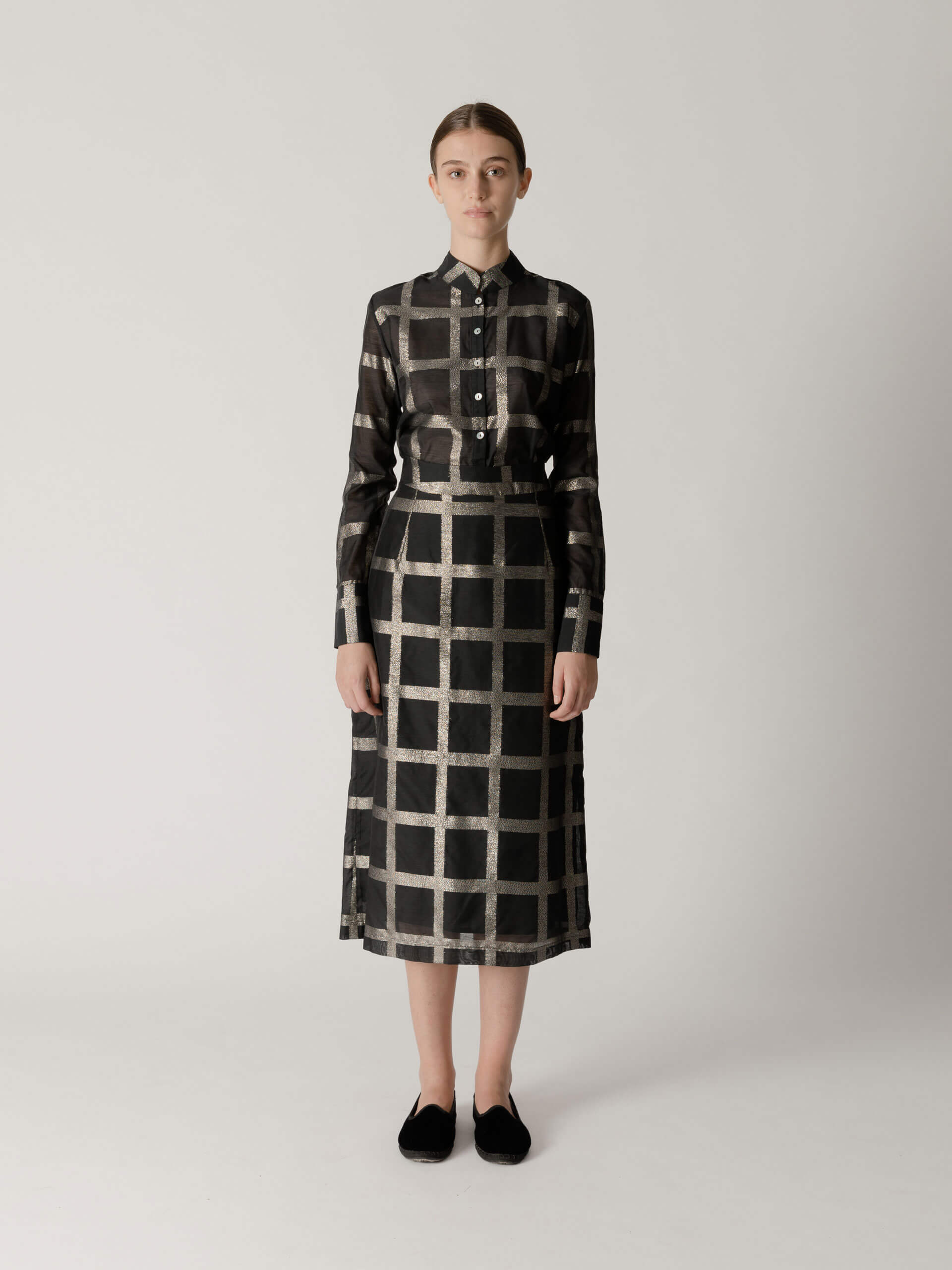 Laurie skirt, checked
